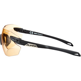 Alpina Twist Five Shield RL VL+ Gafas, black matt-orange